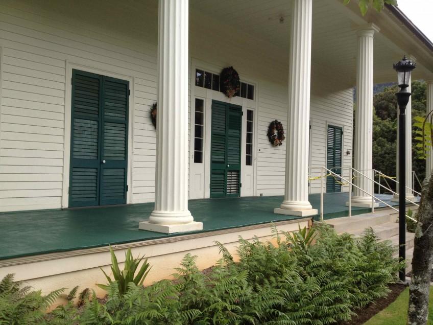 Queen Emma Summer Palace Deck Renovation