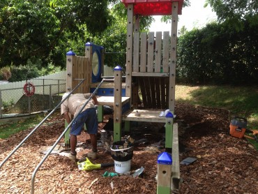 How to save a rotten playground